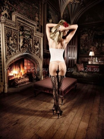 Agent Of Love Комплект бикини светло-бежевый кружевной, фото 4