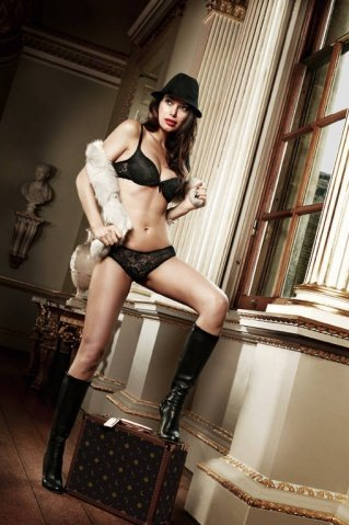 Agent Of Love Трусики черные кружевные ML (большое фото 4) > Секс-шоп Мир Оргазма