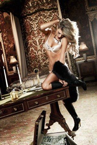 Agent Of Love Бюстгальтер цвета слоновой кости с кружевными элементами и косточками, 32 A (большое фото 4) > Секс шоп Мир Оргазма