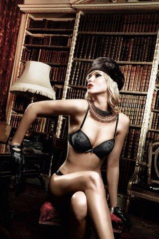 Agent Of Love Бюстгальтер черный с косточками, мягкими чашечками и съемными бретельками 32 A, фото 4