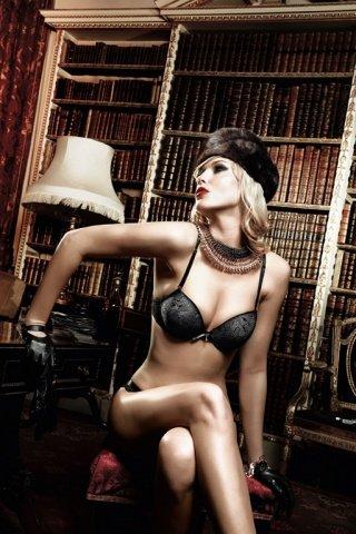 Agent Of Love Бюстгальтер черный с косточками, мягкими чашечками и съемными бретельками, фото 4