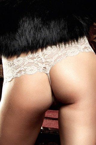 Agent Of Love G-Стринги кружевные цвета слоновой кости, фото 3