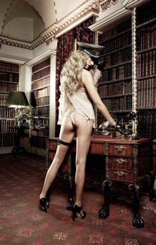 Agent Of Love Пеньюар кружевной цвета слоновой кости со шнурками сзади, фото 2
