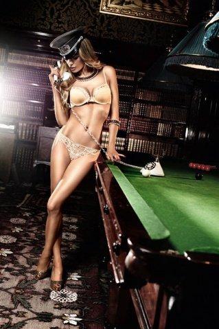 Agent Of Love Бюстгальтер золотистый с мягкими чашечками и косточками 32 А (большое фото 3) > Секс-шоп Мир Оргазма