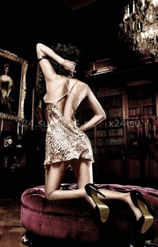 Комплект Beauty Inside The Beast: мини-платье (большое фото 5) > Интернет секс шоп Мир Оргазма