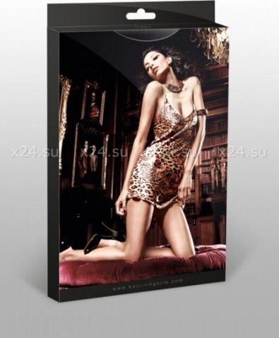 Комплект Beauty Inside The Beast: мини-платье (большое фото 6) > Интернет секс шоп Мир Оргазма