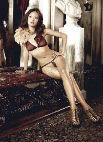 Beauty Inside The Beast Комплект бикини коричневый с металлическими кольцами, фото 3