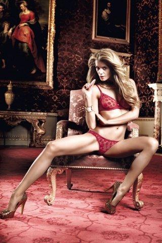 Have Fun Princess Комплект бордовый бикини из Бюстгальтера и трусиков в горошек, фото 4