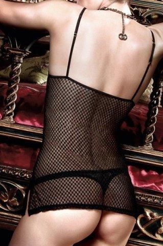Have Fun Princess Платьице черное из узорчатой тюлевой ткани с кружевным бюстье, фото 3