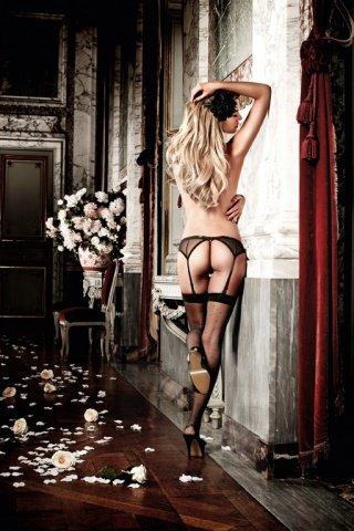 Dolce Vita G-Стринги и подвязка для чулков с роскошным кружевным узором, фото 2