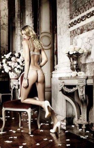 Dolce Vita Комплект бикини светло-серый с косточками и бантиком, фото 3