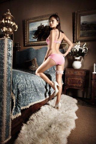Dolce Vita Бюстгальтер розовый кружевной с мягкими чашечками и косточками