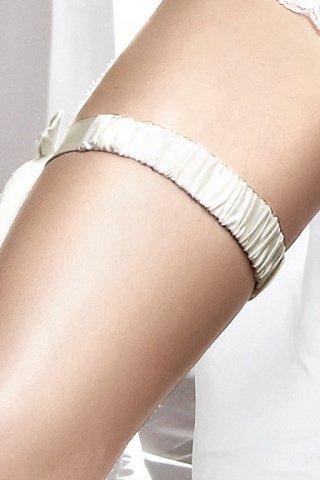 Accessoires Подвязка белая с декоративной накладкой