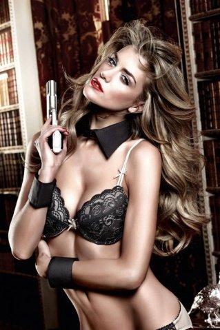 Accessoires Воротничок с манжетками черный, фото 2