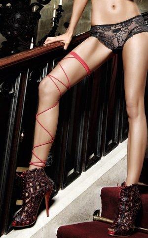 Костюм дьяволица: накидка красная с красивым огромным воротником из пайеток, фото 2