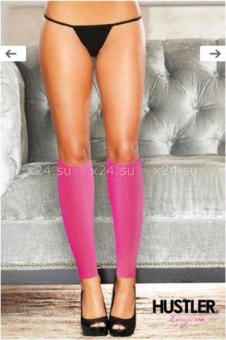 Сексуальные розовые гетры со шнуровкой, фото 2