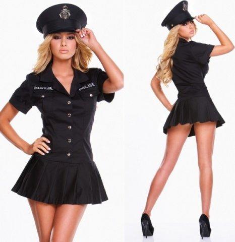 Платье полицейского офицера