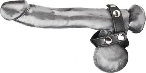 Кольцо на член и мошонку с разделением яичек T-Stile Cock Ring