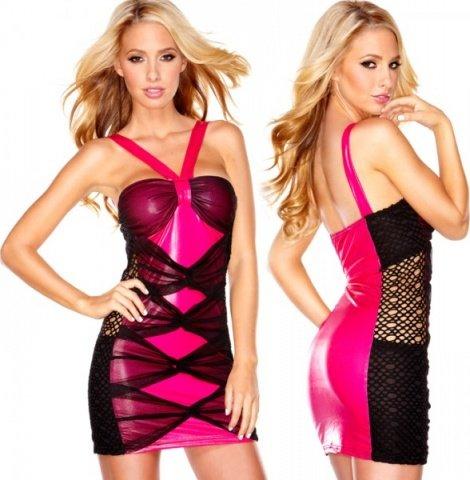 Розовое платье sweet candy