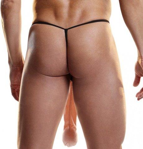 Мужские g-стринги длинный плюшевый пенис hustler fundies 29 см, фото 2