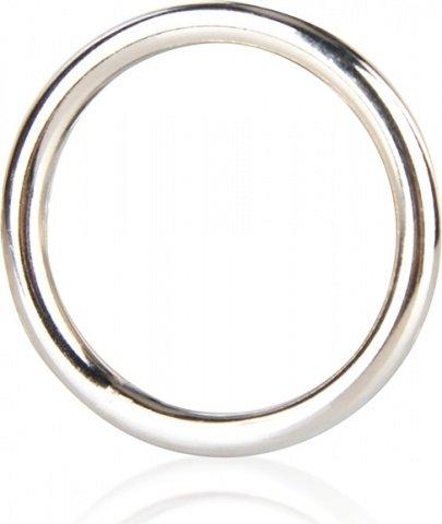 Стальное эрекционное кольцо 3,5 см steel cock ring