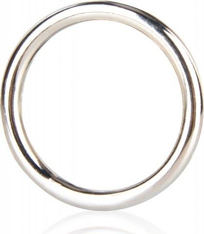 Стальное эрекционное кольцо 5,2 см steel cock ring, фото 4