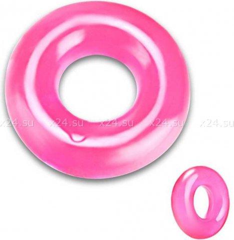 Плотное толстое розовое кольцо на пенис