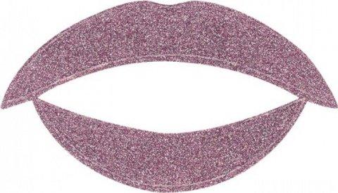 Lip tattoo сиреневый блеск, фото 2