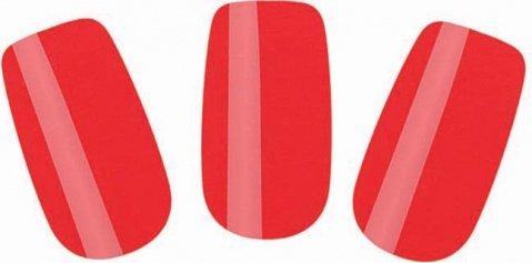 Набор лаковых полосок для ногтей красный шик nail foil, фото 2