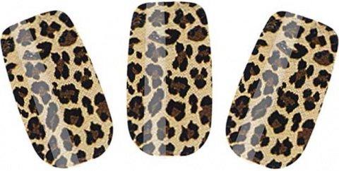 Набор лаковых полосок для ногтей леопард nail foil, фото 2