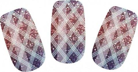 Набор лаковых полосок для ногтей блестящий градиент nail foil, фото 2