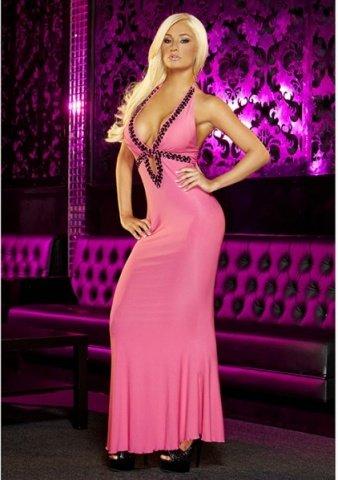Вечернее розовое платье вв полв от Hustler, фото 2