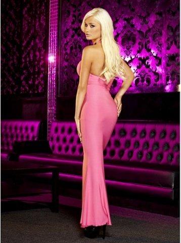 Вечернее розовое платье вв полв от Hustler, фото 3