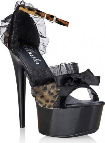 Элегантные туфельки leopard lace 36
