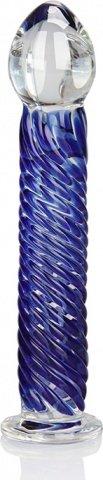 Стеклянный стимулятор spiral stick, фото 2