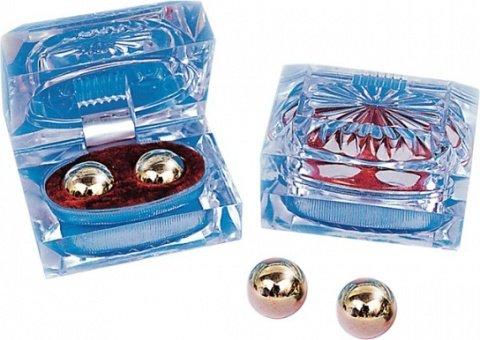 Маленькие металлические шарики в шкатулке, фото 3