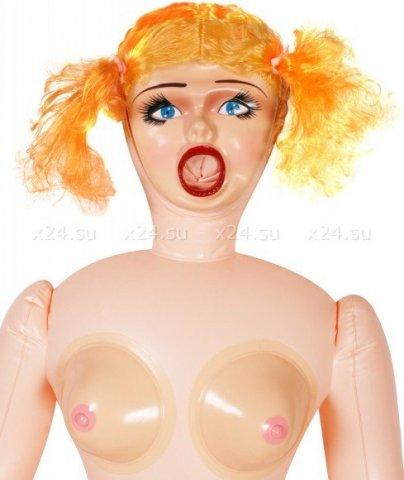 Кукла caprise на вибрации с насосом, фото 3