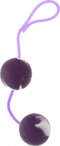 Шарики мягкие вагинальные фиолет. 3,5 см, фото 3