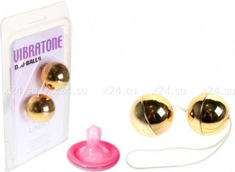 Вагинальные шарики Vibrotone Duo Balls, фото 2