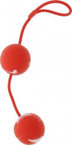 Шарики мягкие вагинальные красные 3,5 см, фото 4