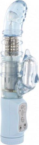 Вибратор водонепрониц. силиконовый 14 см