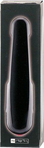 Вибратор пластик черный, фото 4
