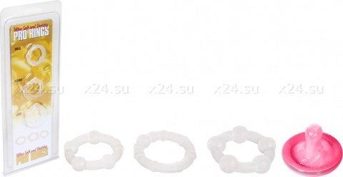 Набор из 3-х эрекционных колец различ. диаметра