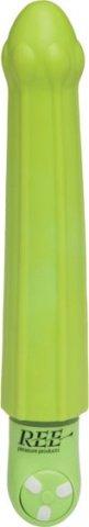 Вибратор зеленый водонепр