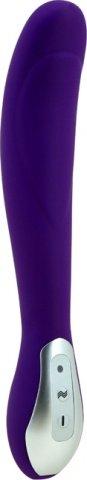 Вибратор фиолетовый, силикон, перезаряжаемый, 7 режимов вибрации, фото 5