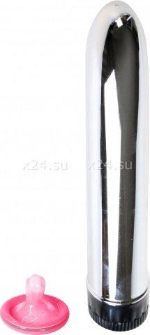 Классический вибратор Slim Line