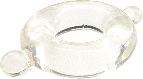 Кольцо с ушками из эластомера прозрачное размер Large H2H, фото 2