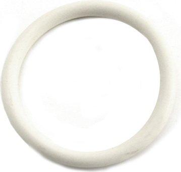Нитриловое эрекционное белое кольцо d=50 мм M2M (большое фото 2) > Секс шоп Мир Оргазма