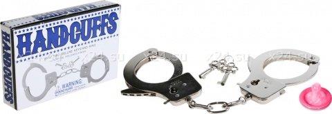 Сувенир наручники 6 см, фото 2