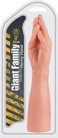 Фаллоимитатор в форме руки horny hand palm 33 см, фото 3